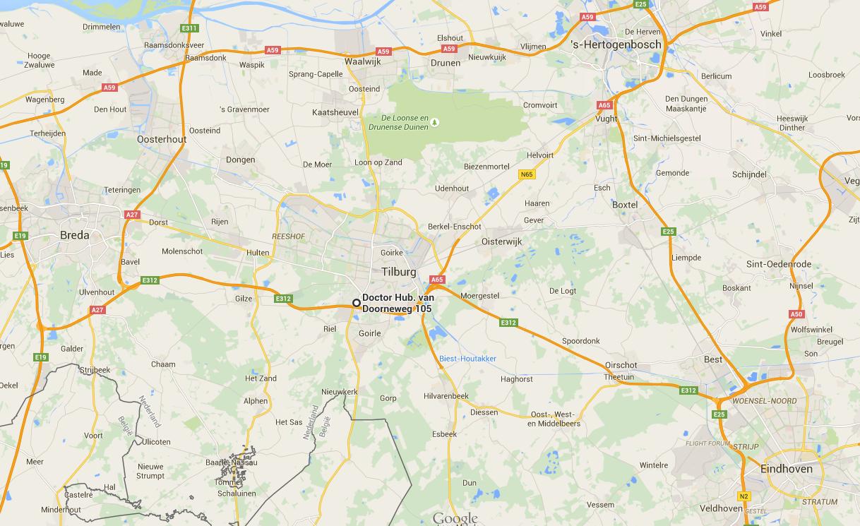 Locatie cursus vaarbewijs Tilburg