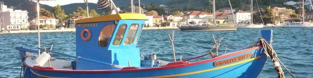 vissersboot griekenland